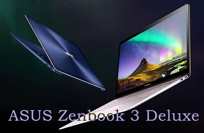 asus zenbook 3 deluxe UX490 laptop